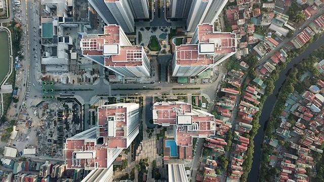 Ngộp thở ở những khu chung cư dày đặc, chọc trời giữa Thủ đô - Ảnh 7.