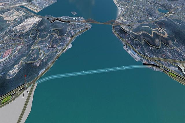 Quảng Ninh đầu tư gần 8.000 tỷ đồng xây dựng hầm những con phố bộ vượt eo biển Cửa Lục - Ảnh 1.