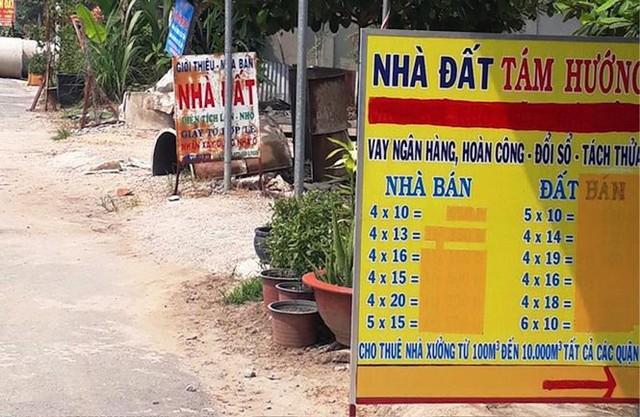 Sốt đất nền lan khắp Sài Gòn, đua nhau tách thửa bán nền - Ảnh 5.