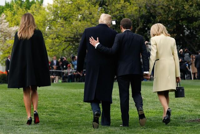 [Chùm ảnh] Quan hệ ấm áp của Tổng thống Pháp - Mỹ - Ảnh 11.