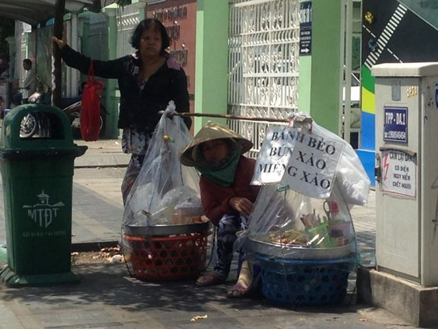 Người Sài Gòn mưu sinh dưới cái nắng 40 độ C  - Ảnh 6.