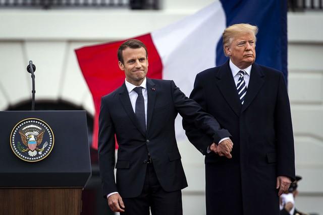 [Chùm ảnh] Quan hệ ấm áp của Tổng thống Pháp - Mỹ - Ảnh 9.