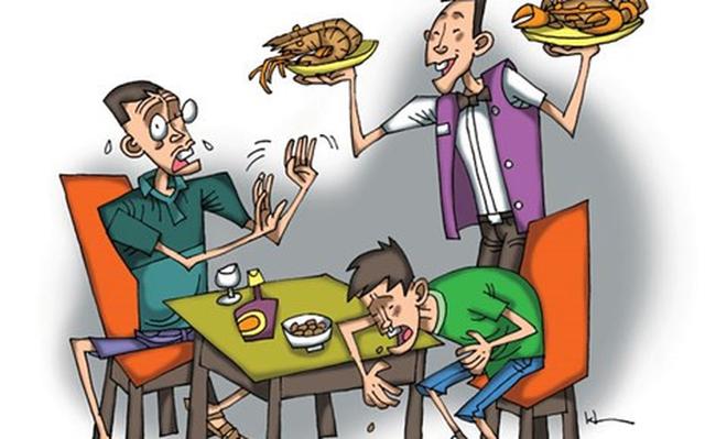 5 nguy cơ sức khỏe rình rập gia đình bạn trong dịp nghỉ lễ - Ảnh 3.