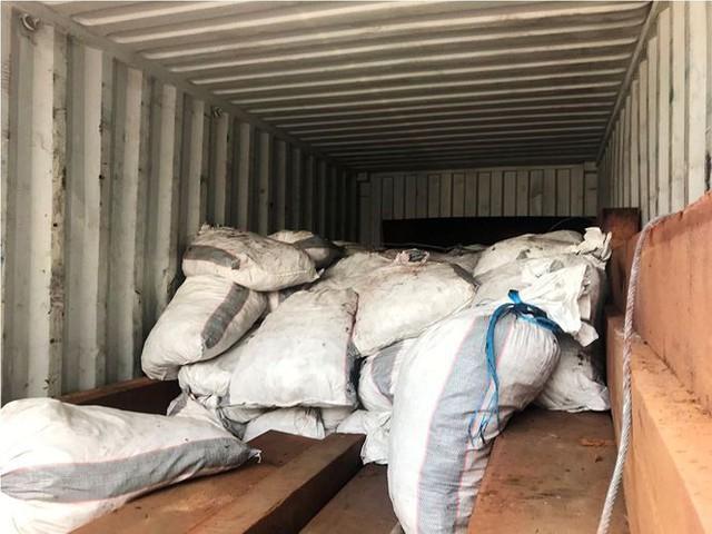Gần 4 tấn vảy tê tê đột nhập TPHCM qua container chở gỗ   - Ảnh 2.