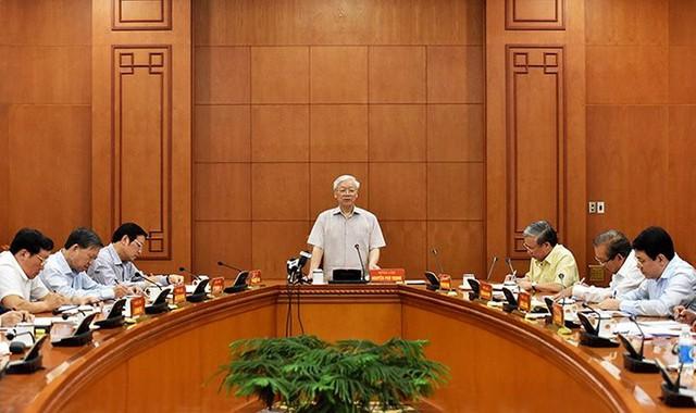 Tổng Bí thư chỉ đạo xử lý một số vụ án tham nhũng nghiêm trọng - Ảnh 1.