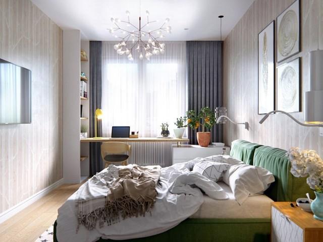 Tạo điểm nhấn siêu xinh với nội thất xanh lá cây - Ảnh 8.