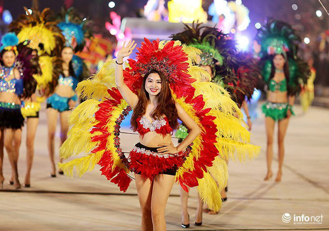 Những hình ảnh ấn tượng tại Lễ hội Carnaval Hạ Long 2018 - Ảnh 8.