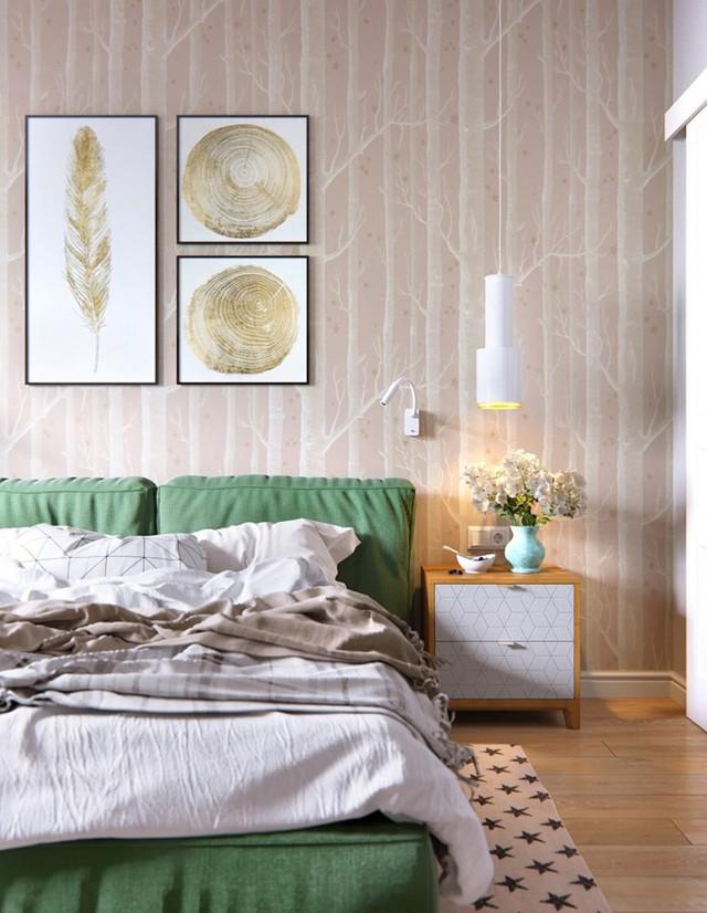 Tạo điểm nhấn siêu xinh với nội thất xanh lá cây - Ảnh 10.