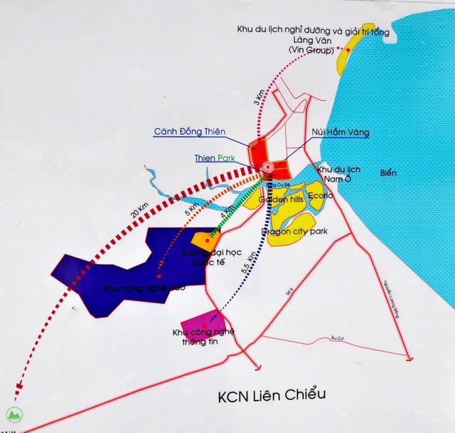 Ngân hàng An Bình thu giữ 4 BĐS lớn tại dự án Thien Park Đà Nẵng để thu nợ - Ảnh 1.