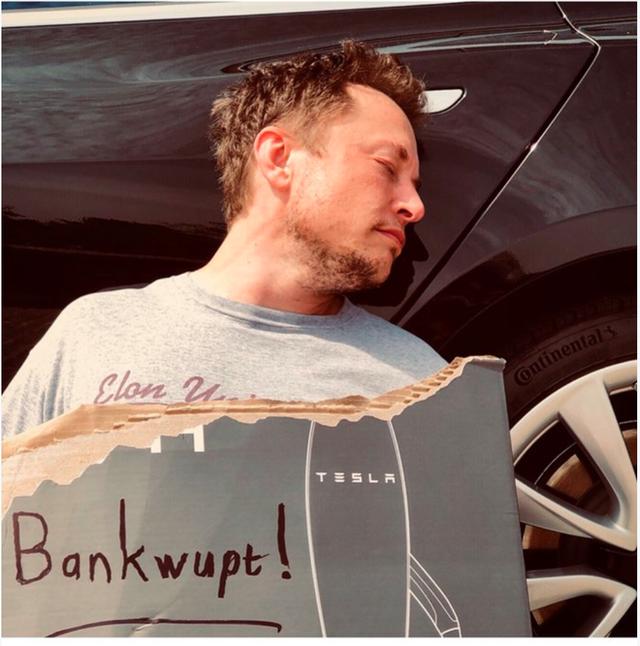 Bài học sâu sắc để vượt qua nỗi sợ hãi từ câu chuyện Tesla phá sản của tỉ phú Elon Musk - Ảnh 1.