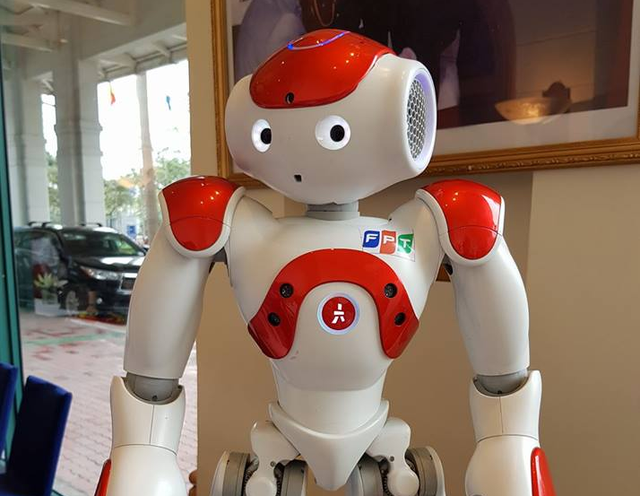 Con robot của FPT - Ảnh 1.