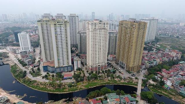 Cận cảnh loạt chung cư là điểm đen phòng cháy ở Hà Nội - Ảnh 1.
