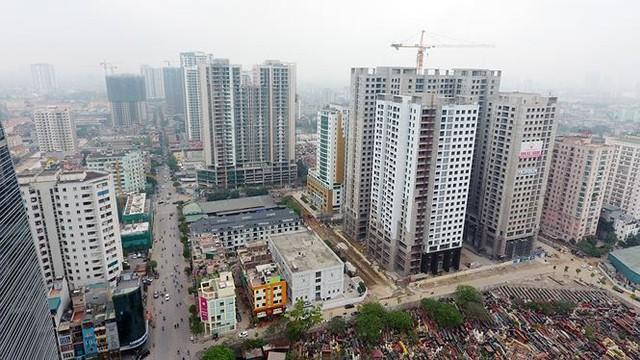 Hà Nội ngộp thở với chung cư cao tầng - Ảnh 2.