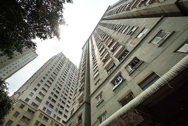 Cận cảnh loạt chung cư là điểm đen phòng cháy ở Hà Nội - Ảnh 3.