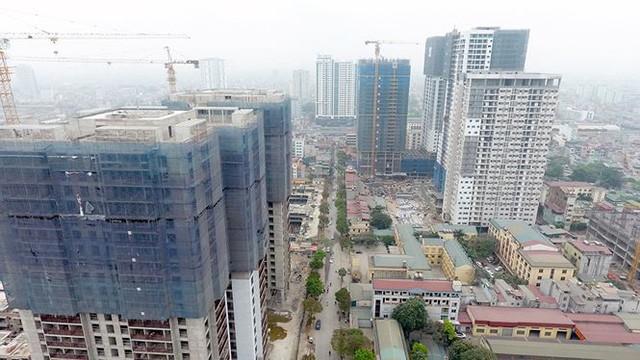 Hà Nội ngộp thở với chung cư cao tầng - Ảnh 7.