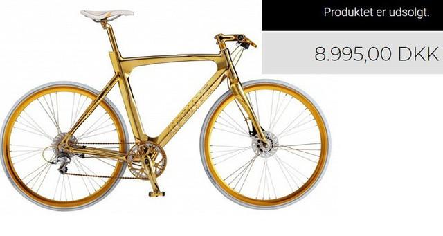 Cận cảnh xe đạp mạ vàng phiên bản giới hạn cực độc, giá 1,2 tỷ đồng tại Hà Nội - Ảnh 6.