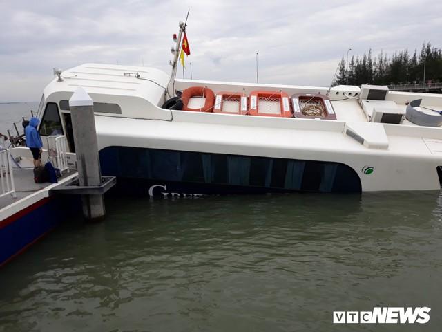 Tàu cao tốc gặp nạn ở Cần Giờ: Hành khách không được hướng dẫn mặc áo phao - Ảnh 1.