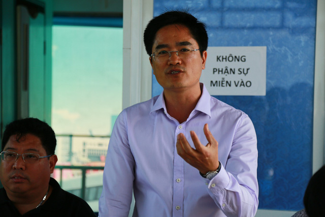 Cận cảnh trục vớt tàu cao tốc trị giá cả triệu USD bị chìm ở Sài Gòn - Ảnh 10.