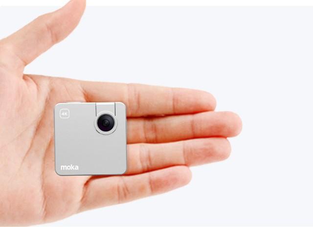Chỉ nhỏ bằng chiếc bánh quy nhưng có thể quay video 4k, chiếc camera này đang khiến cộng đồng Indiegogo phát sốt - Ảnh 1.