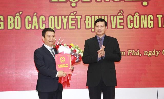 Quảng Ninh: TP Cẩm Phả có Bí thư Thành ủy và Chủ tịch UBND thành phố mới - Ảnh 1.