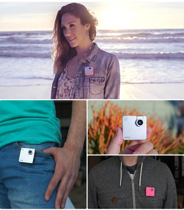 Chỉ nhỏ bằng chiếc bánh quy nhưng có thể quay video 4k, chiếc camera này đang khiến cộng đồng Indiegogo phát sốt - Ảnh 6.
