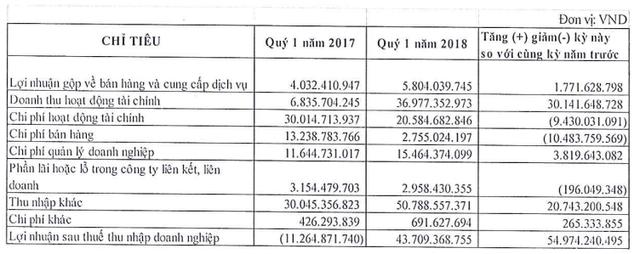 Saigon Water (SII): Quý 1 lãi 44,5 tỷ đồng hoàn thành 48% mục tiêu cả năm 2018 - Ảnh 1.