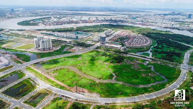 Đại lộ vòng cung bao quanh khu đô thị Sala của Đại Quang Minh.
