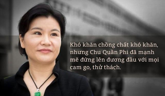 Bà chủ đế chế màn hình điện thoại tỷ đô Chu Quần Phi: Bí quyết thành công của tôi là không bao giờ bỏ cuộc - Ảnh 1.