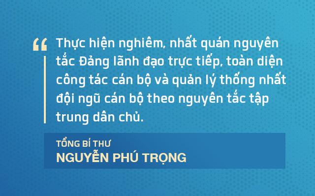 Điểm nhấn về công tác cán bộ trong phát biểu bế mạc Hội nghị Trung ương 7 của Tổng Bí thư - Ảnh 3.