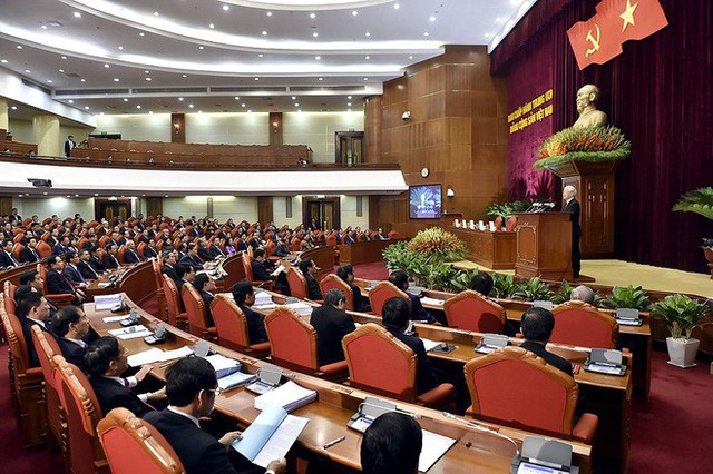 Tổng Bí thư Nguyễn Phú Trọng: Ủy viên Bộ Chính trị, Ban Bí thư phải thực sự tiêu biểu về trí tuệ, đạo đức - Ảnh 1.