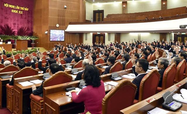 Tổng Bí thư Nguyễn Phú Trọng: Ủy viên Bộ Chính trị, Ban Bí thư phải thực sự tiêu biểu về trí tuệ, đạo đức - Ảnh 2.