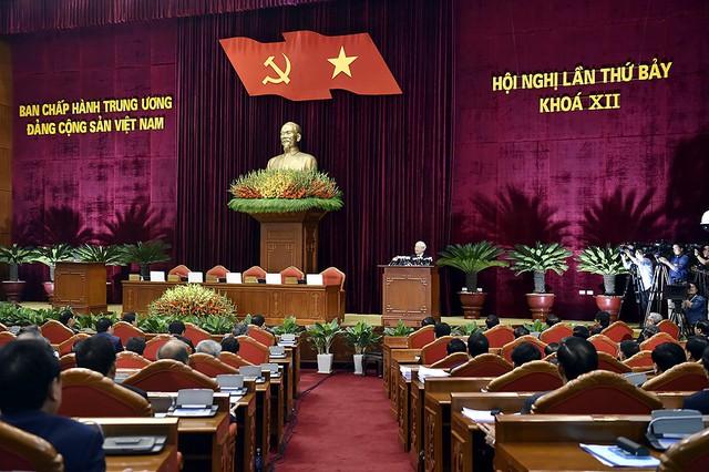 Hội nghị Trung ương 7 hoàn thành toàn bộ nội dung chương trình đề ra - Ảnh 1.