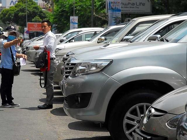 Từ 1-6, TP.HCM bắt đầu thu phí ô tô đậu dưới lòng đường - Ảnh 1.