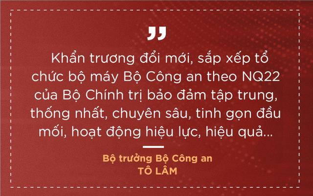 Thượng tướng Tô Lâm nêu 7 nhiệm vụ, giải pháp để lực lượng công an trong sạch, vững mạnh - Ảnh 4.