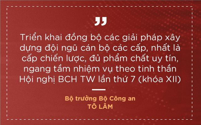 Thượng tướng Tô Lâm nêu 7 nhiệm vụ, giải pháp để lực lượng công an trong sạch, vững mạnh - Ảnh 5.