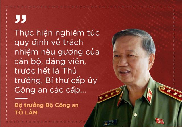 Thượng tướng Tô Lâm nêu 7 nhiệm vụ, giải pháp để lực lượng công an trong sạch, vững mạnh - Ảnh 6.