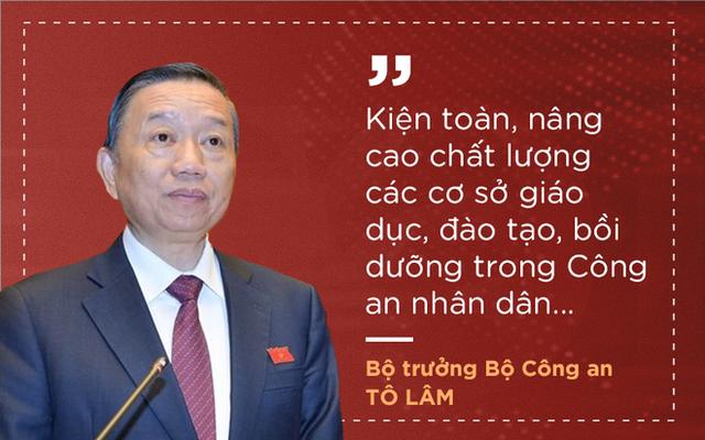 Thượng tướng Tô Lâm nêu 7 nhiệm vụ, giải pháp để lực lượng công an trong sạch, vững mạnh - Ảnh 7.