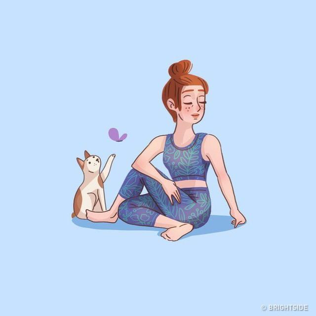 9 bài tập vô cùng dễ tập theo giúp bạn thoát khỏi đau lưng dưới rất nhanh - Ảnh 8.