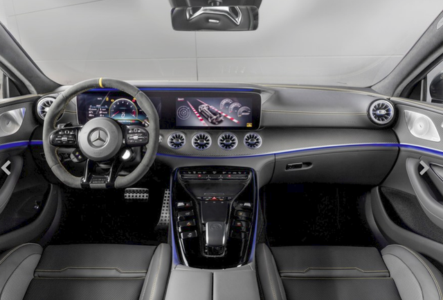 Chiêm ngưỡng Mercedes AMG GT Coupe 4 cửa thuộc dòng xe đẹp nhất thị trường, không chỉ sang trọng mà còn mạnh mẽ đúng chất siêu xe - Ảnh 3.