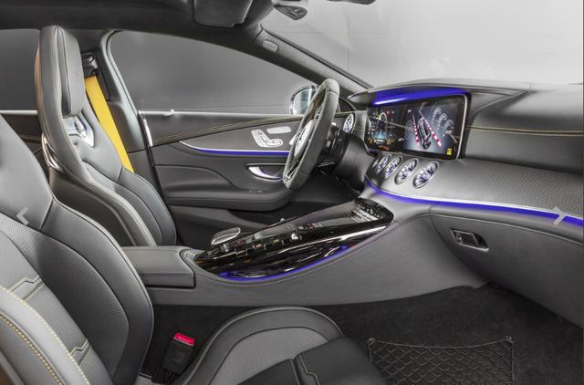 Chiêm ngưỡng Mercedes AMG GT Coupe 4 cửa thuộc dòng xe đẹp nhất thị trường, không chỉ sang trọng mà còn mạnh mẽ đúng chất siêu xe - Ảnh 4.