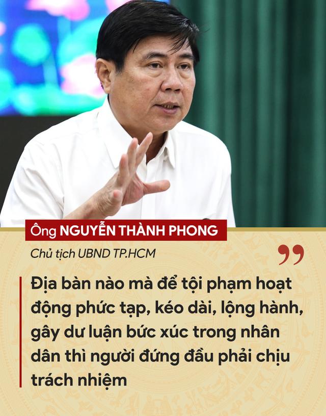 Những tuyên bố đanh thép của lãnh đạo về tội phạm cướp giật ở TP.HCM - Ảnh 1.