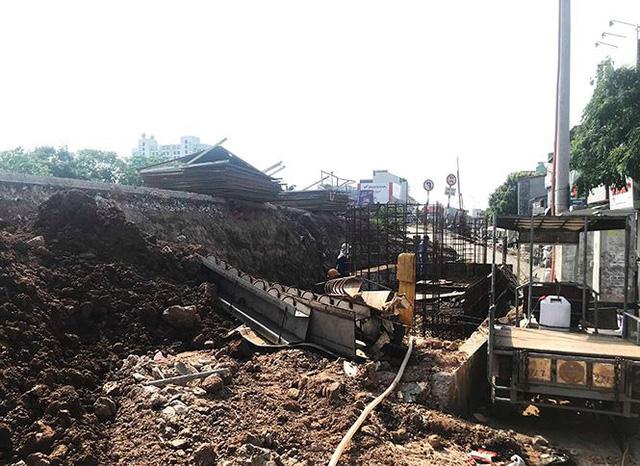 Bắt đầu lắp dầm sắt cầu vượt An Dương – Thanh Niên  - Ảnh 11.