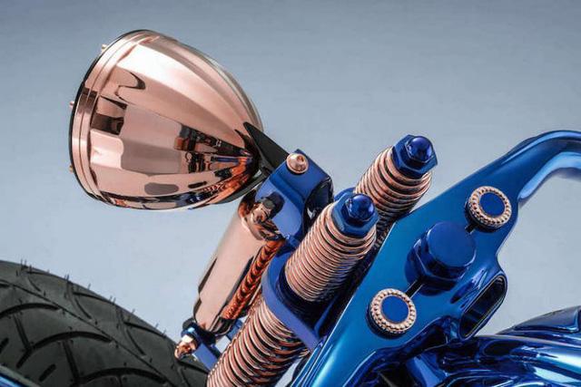 Chiêm ngưỡng chiếc Harley-Davidson được mạ vàng, nạm kim cương có đắt nhất thế giới - Ảnh 2.