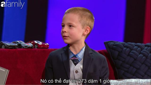 Cậu bé 8 tuổi sở hữu khối lượng kiến thức khổng lồ về xe hơi khiến ai cũng khâm phục - Ảnh 7.