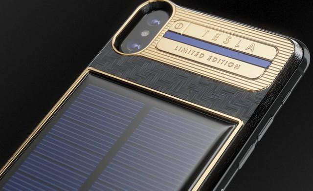 iPhone X phiên bản Tesla sử dụng pin mặt trời có giá tới 4.000 USD và Elon Musk sẽ là người đầu tiên sở hữu - Ảnh 2.