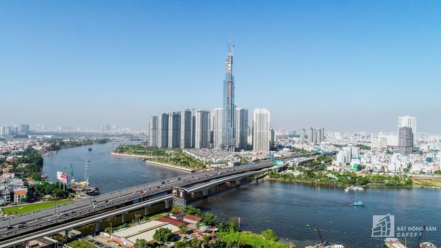 Cận cảnh công trường xây dựng đỉnh tòa nhà cao nhất Việt Nam, chuẩn bị khai trương vào quý 4 - Ảnh 5.