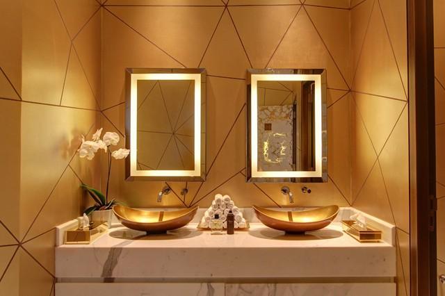 Bên trong nhà hàng xa xỉ phục vụ đồ ăn làm từ vàng ở Dubai - Ảnh 11.