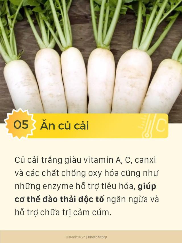 6 thực phẩm giúp giải cảm hiệu quả cho những ngày nắng mưa thất thường - Ảnh 5.