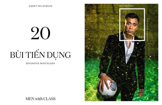 Các cầu thủ U23 Việt Nam lột xác thành những quý ông lịch lãm trong bộ ảnh mới - Ảnh 4.