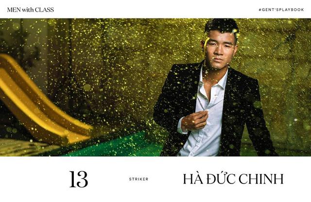 Các cầu thủ U23 Việt Nam lột xác thành những quý ông lịch lãm trong bộ ảnh mới - Ảnh 6.